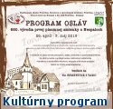 Kultúrny program